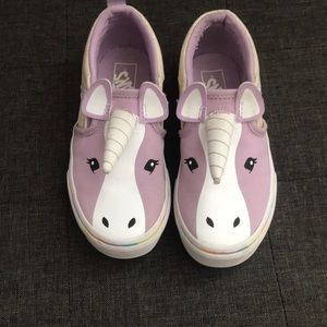 Girls unicorn Vans